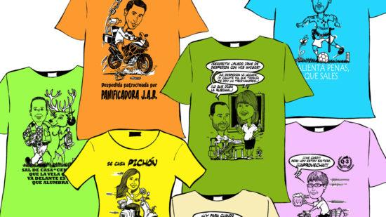 Camisetas simpáticas, personalizadas y divertidas para tu despedida de la soltería